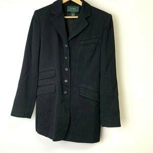 Lauren Ralph Lauren Black Pea Coat Womens Size 6